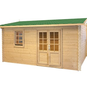 Wood Cabin playhouse