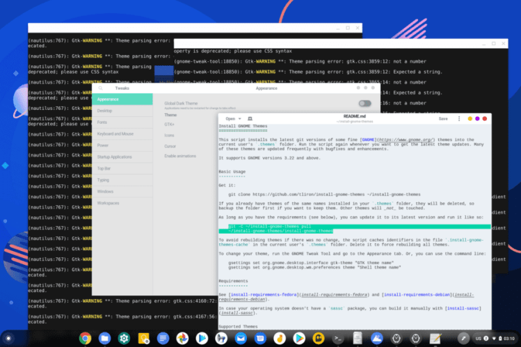 How to Make Your Linux Apps More in Line With the Rest of the Chrome