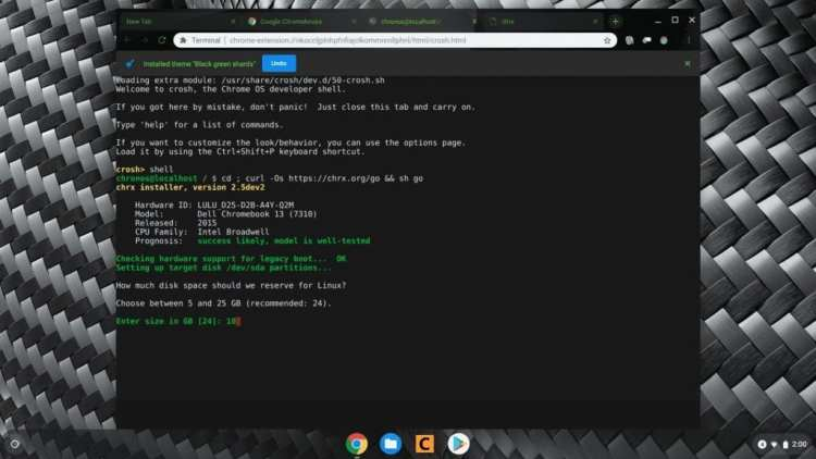 Chrx: A Linux Distro Installer For Chromebooks – ItsChromeOS
