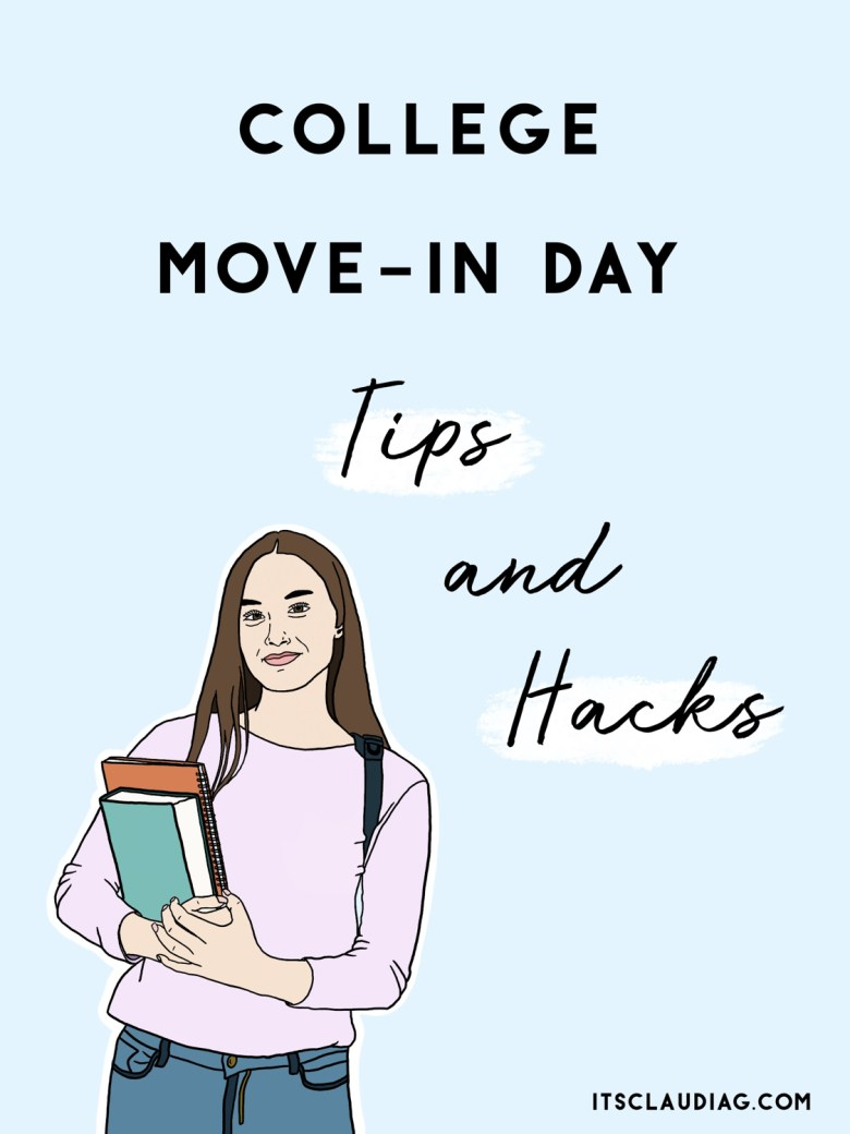 tips and hacks to prepare for college move-in day