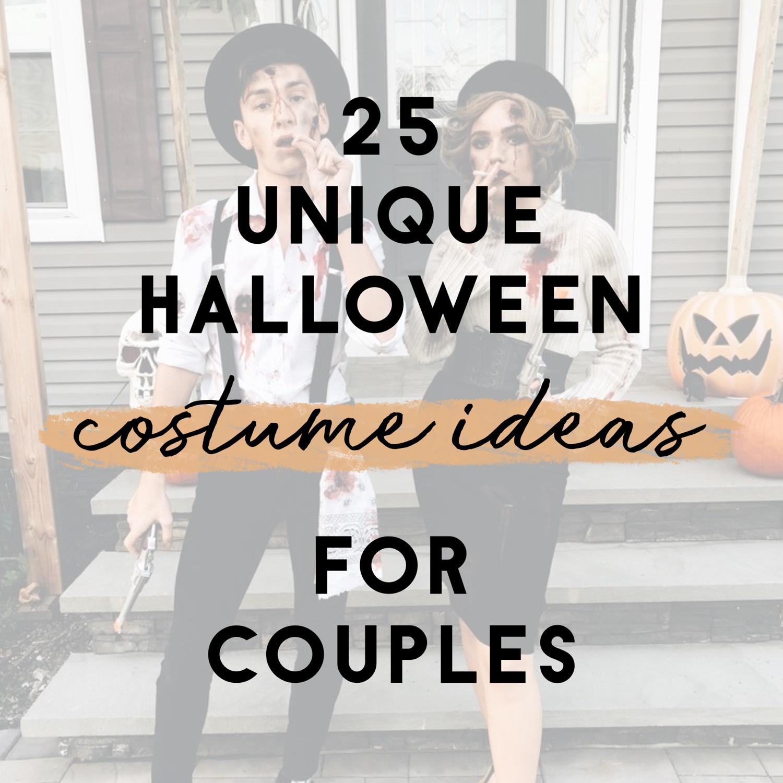 Halloween 2019 Costume Ideas Couples.25 Easy Unique Halloween Costume Ideas For Couples Its