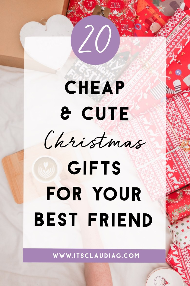 The Best Christmas Gift Ideas For Your Best Friend