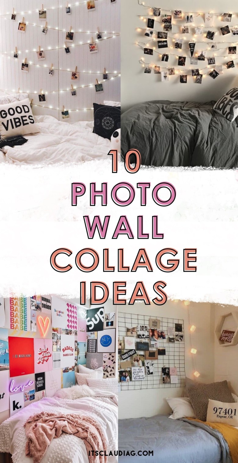 10 Photo Wall Collage Ideas For Your Bedroom Its Claudia G