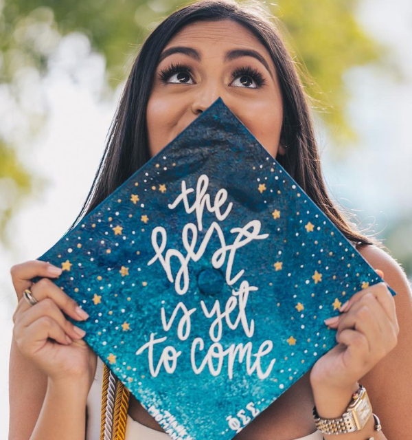 Graduation cap ideas college