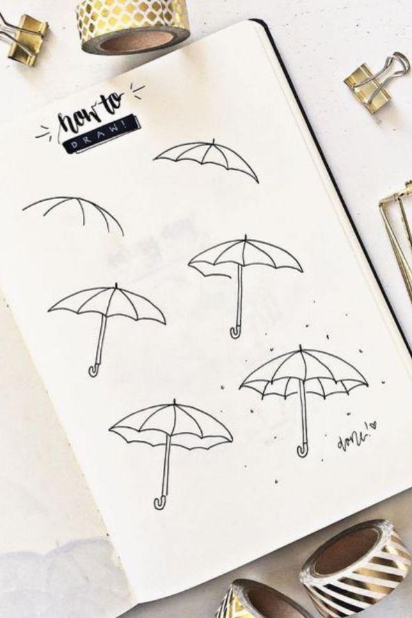 doodle art easy