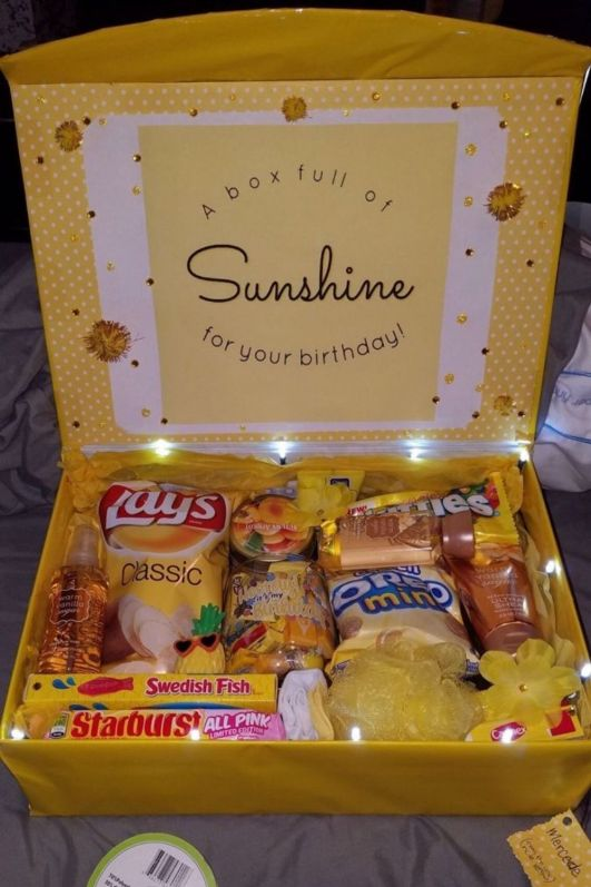 college care packages for daughter