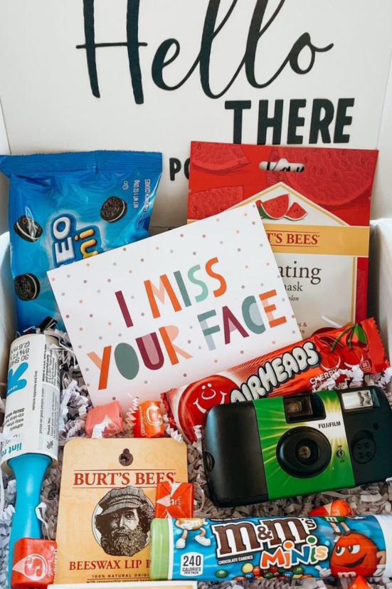college student care package ideas