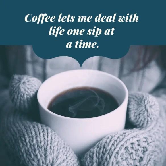 Coffee captions