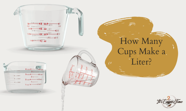 How Many Cups In A Liters