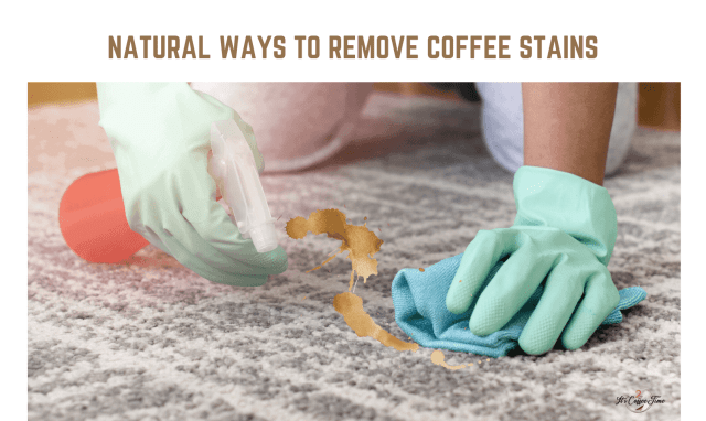 Natural Ways to Remove Coffee Stains