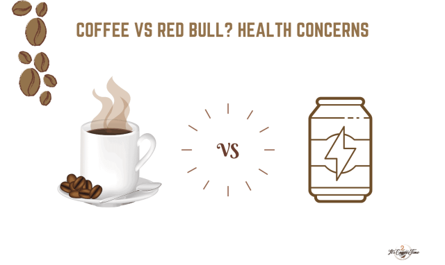 Coffee vs Red Bull Health Concerns