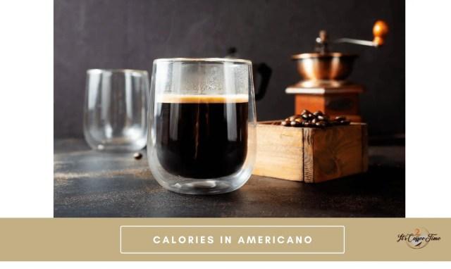 Calories in Americano