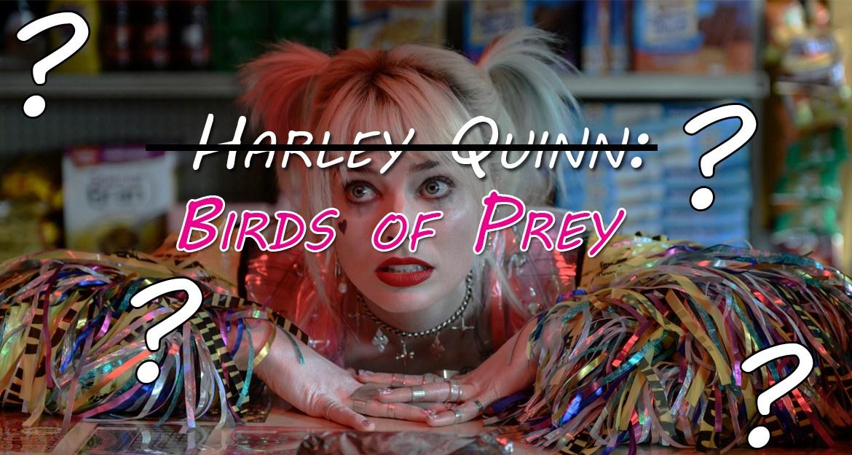 Agitated Author:  The Critical Failings of Harley Quinn: Birds of Prey