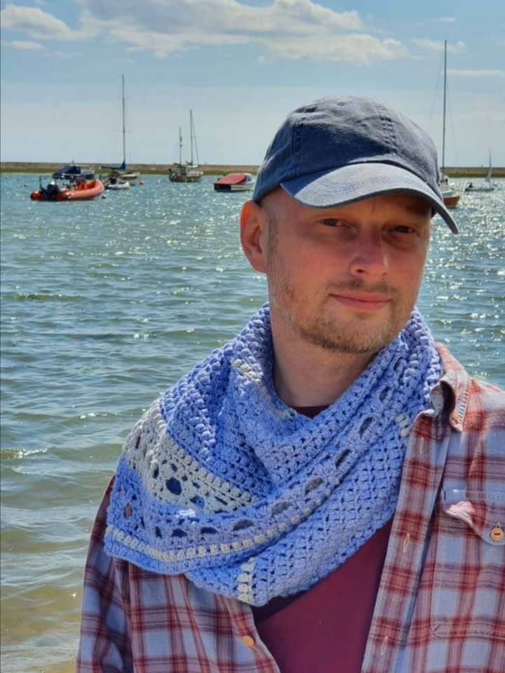 Pattern Release: She Sells Sea Shawls by Russell Sansom