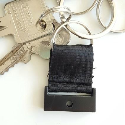 Fertiger Schlüsselring