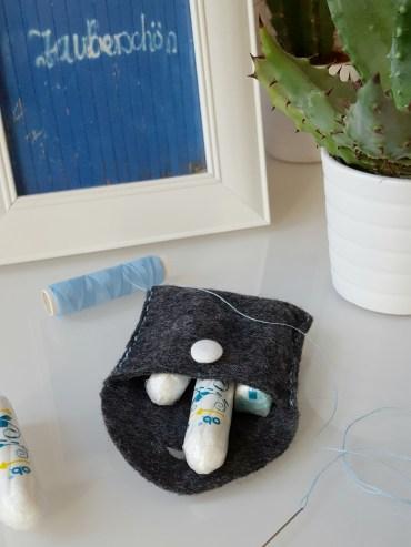 Frauenkrams-Täschchen für Tampons