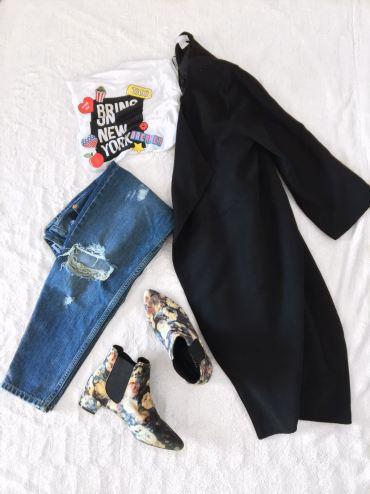 Jacket: H&M, Tshirt: Primark, Jeans: Topshop, Boots: Topshop