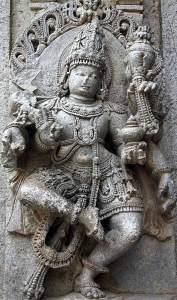 Dancing Vishnu