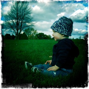 E at the park, hipstamatic