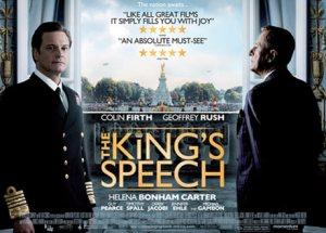 The Kings Speech Colin Firth Geoffrey Rush