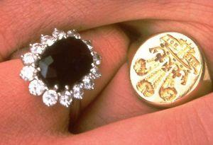 charles and diana rings