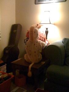 giraffe wants to keep playing
