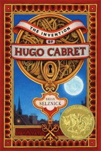the invention of hugo cabret brian selznick book cover
