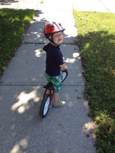 radio flyer balance bike