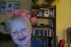 E in love photo booth