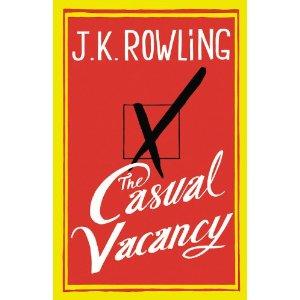 casual vacancy jk rowling cover art