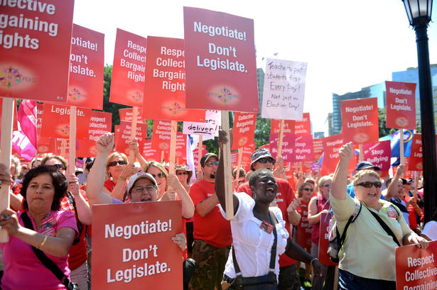 queens park rally for education