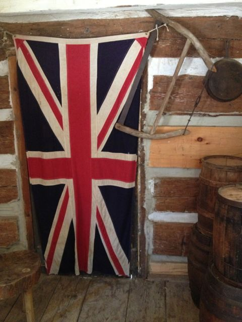 union jack at westfield heritage village
