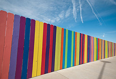 albuquerque rainbow fence
