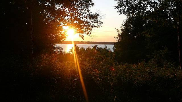 sunset at neekaunis - photo by ravipjoshi
