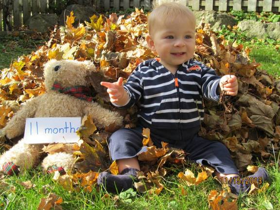 Happy 11-month-old.