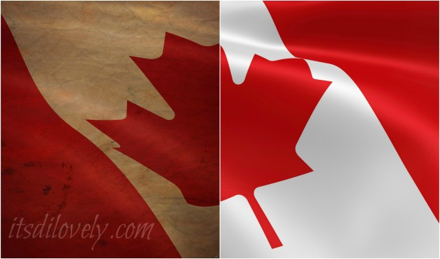 Canadian Flag Election 2015