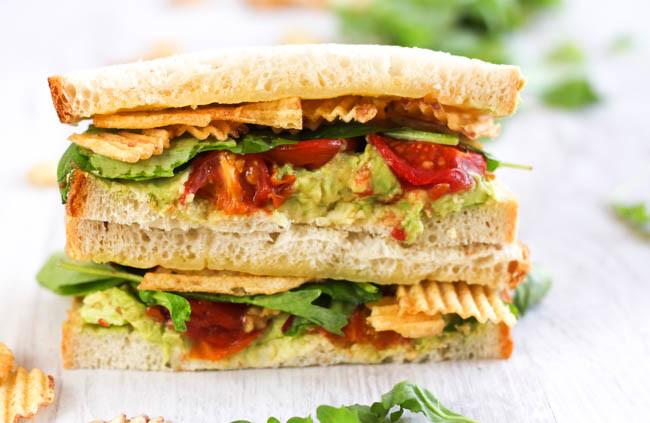 vegetarian sandwich 5-day artist challenge