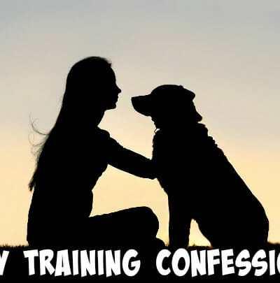 My Training Confession