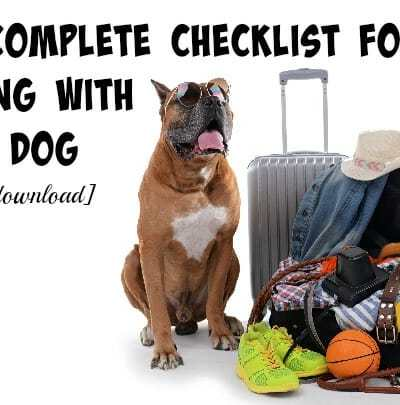 The Complete Checklist for Moving with Your Dog