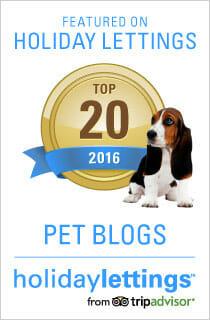 Top 20 Pet blogs 2016 badge