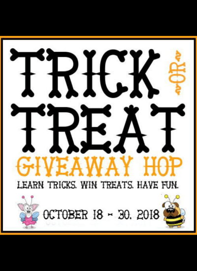 Learn tricks and enter for the chance to win almost $1,500 in prizes! #trickortreatdogs