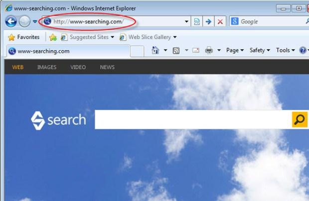 www-searching.com редирект