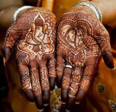 bridal mehandi design for 2015