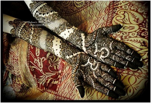 Indian Wedding Bridal Mehndi Designs For Full Hands