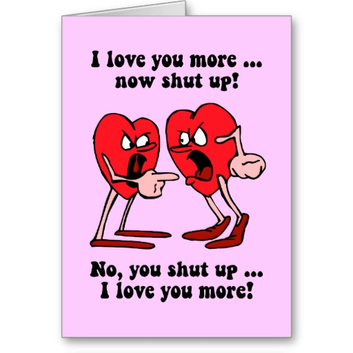 funny valentines day greeting cards