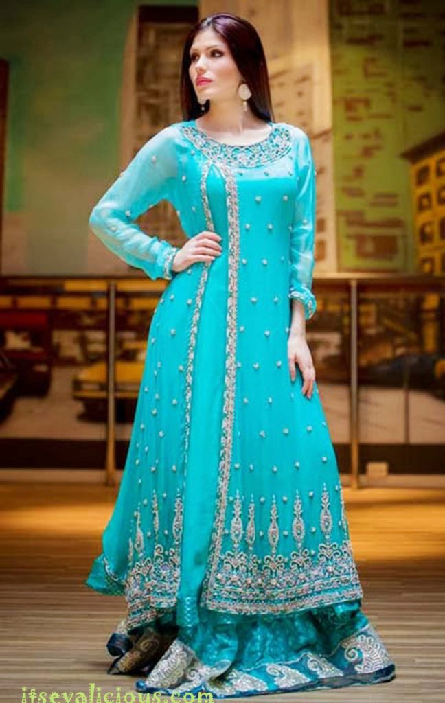 Pakistani Wedding Dresses Imrana-Ahmad-Winter-Bridal-Collection-2015 Pakistani