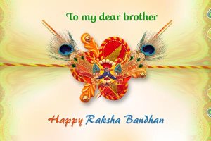 Happy Raksha Bandhan Hd Wallpaper 2015
