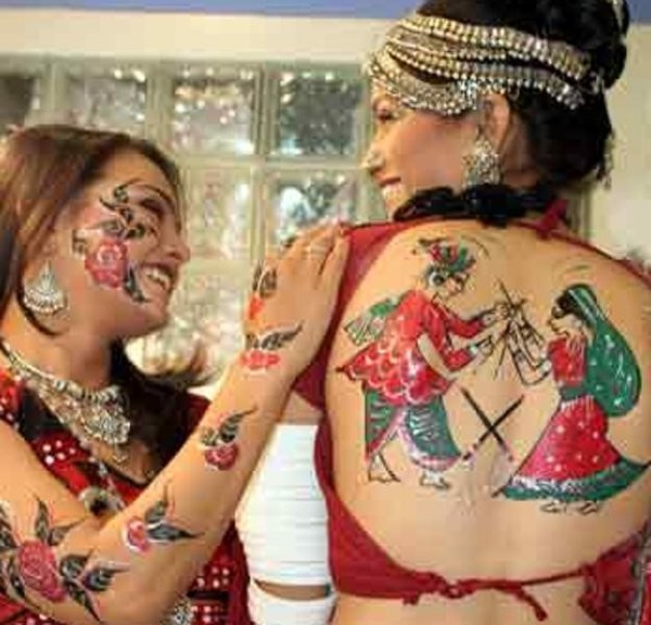 tattoo designs for navratri