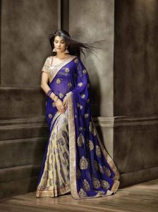 Do You Know Wearing Sarees In Party Is New Trend In India.