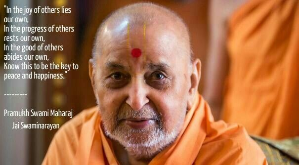 pramukh swami maharaj sayings